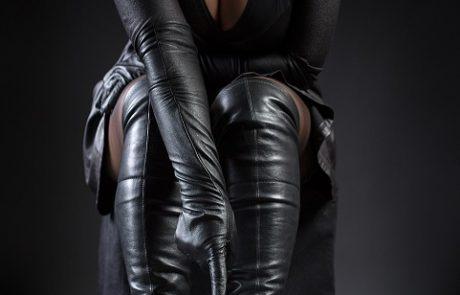 Stiefel Handschuhe Nylons