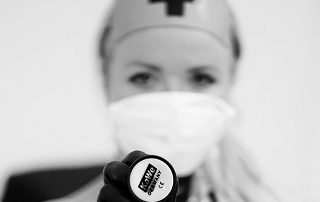 Klinikerotik Mundschutz